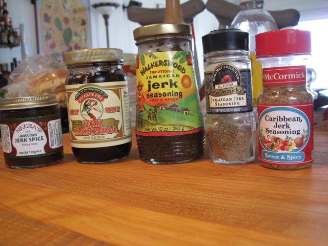 Spicy jerk chicken marinade recipe