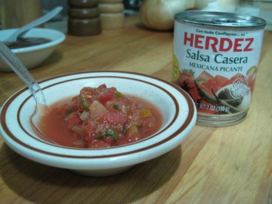 Ingredients: Salsa Casera: tomatoes, onions, serrano peppers, iodized ...