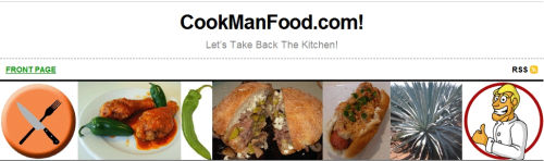 CookManFood.com on Food Blog Monday