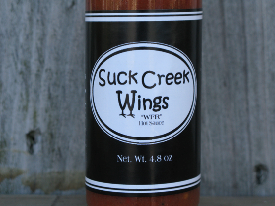 WFR Hot Sauce from Suck Creek Wings