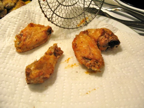 deep fried wings