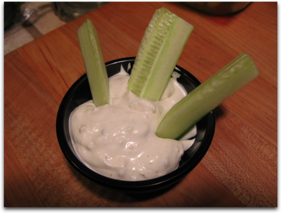 Click here for a great and easy blue cheese dip recipe