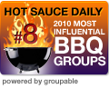 HotSauceDaily In Top Ten Most Influential BBQ Groups