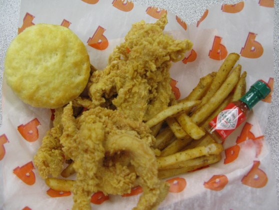 Popeyes Wicked Chicken