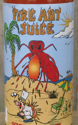 Fire Ant Juice<br /> Gourmet Hot Sauce