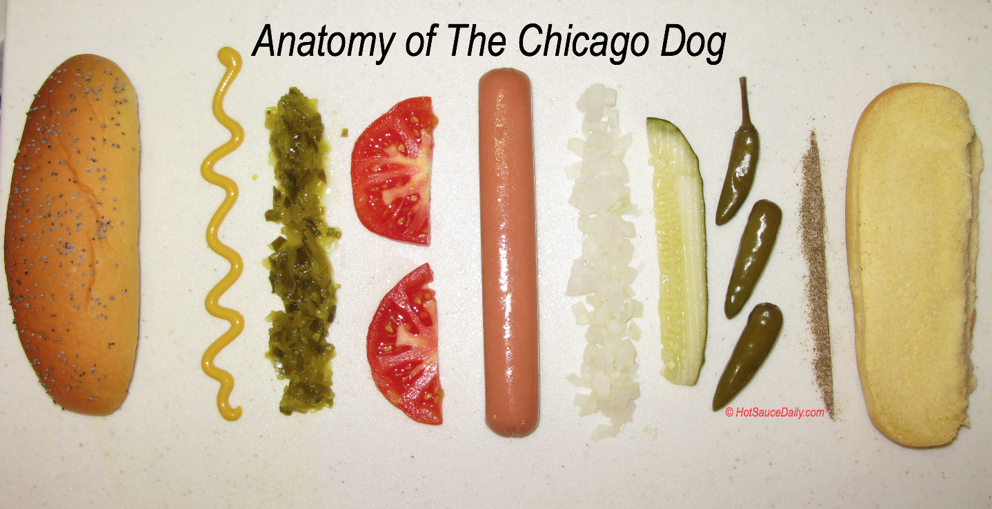 How To Make Chicago Style Hot Dog At Home