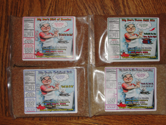 big rons rub sample packs