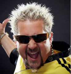 Celebrity Chef Guy Fieri Launches New Line of Barbeque Sauces and Salsas