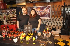 Rick and Maria Villafrade of Dragonfire Hotsauce