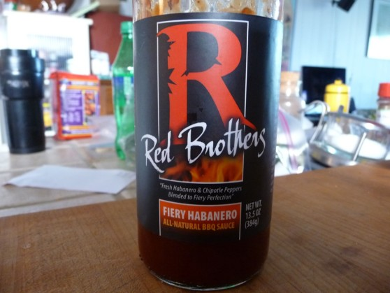 Red Brothers Fiery Habanero All Natural BBQ Sauce