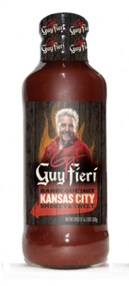Guy Fieri Kansas City Barbecue Sauce Smokey and Sweet
