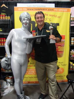 Todd's Crabby DIRT Wins Silver Sofi Award