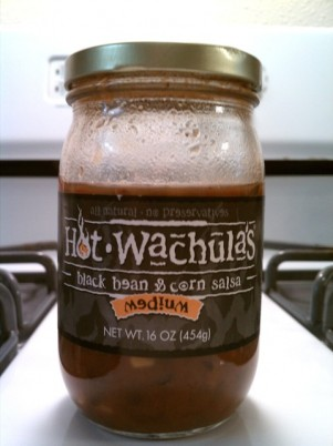 Hot Wachula Salsas: Peach and Black Bean and Corn Reviews