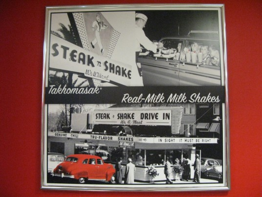 Steak n Shake old photos from 1950s
