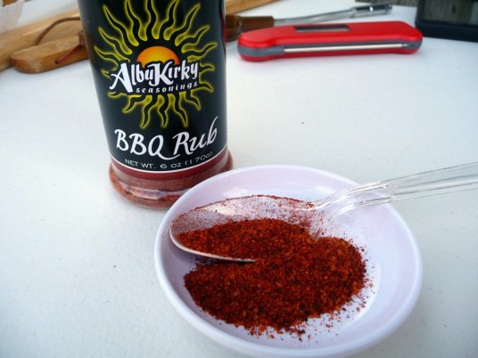 sample of albukirky bbq rub