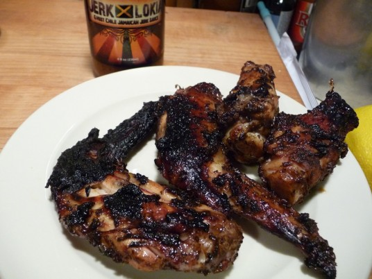 Jerk Lokia Grilled Wings