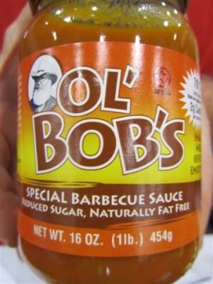 Ol' Bob's Barbecue Sauce Label
