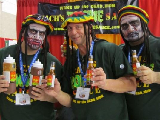 Crew from Zach's Zombie Sauce