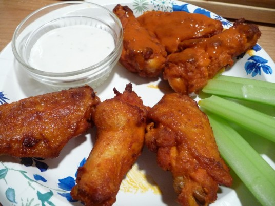 pizza hut wet and dry wings