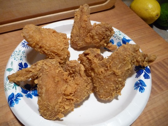 popeyes dry wings