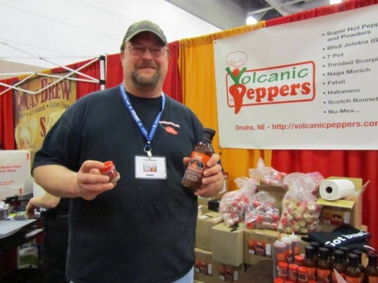 Tim Bader of Volcanic Peppers