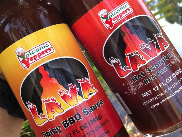 Volcanic Peppers LAVA Hot Scorpion BBQ Sauce Review
