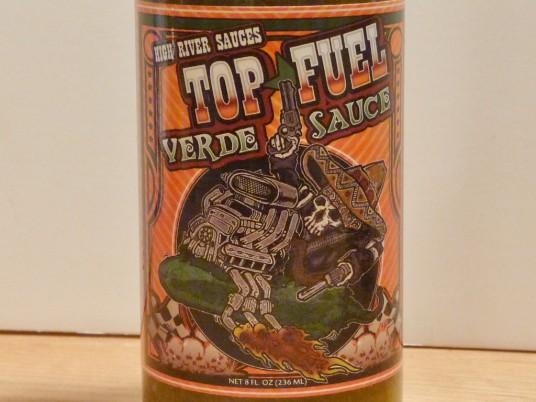 High River Sauces Top Fuel Verde Hot Sauce Review