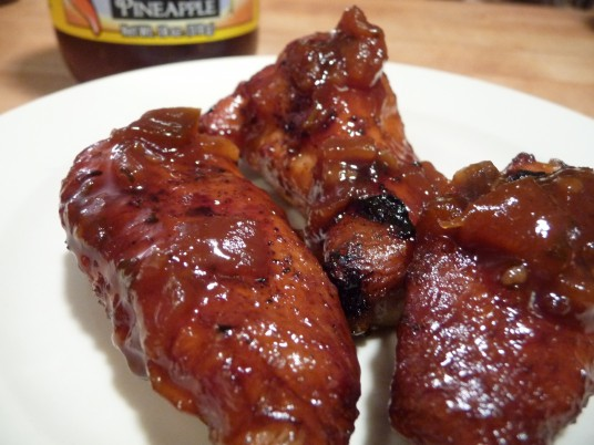 Grandville's Pineapple Jam on Wings