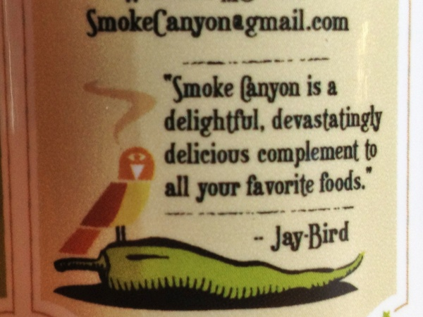 Jay Bird on the label