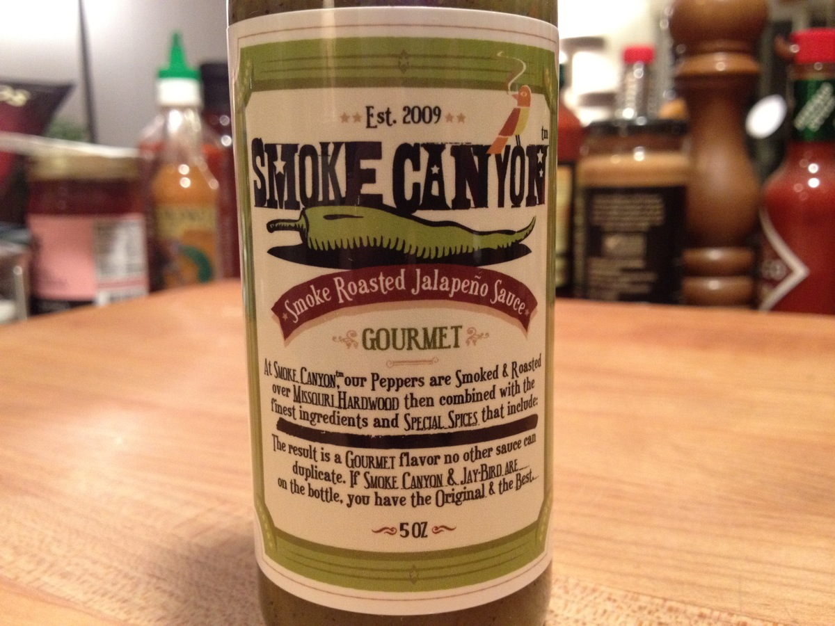 Smoked Canyon Label