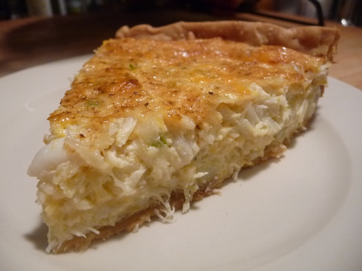 Easy crab pie recipe