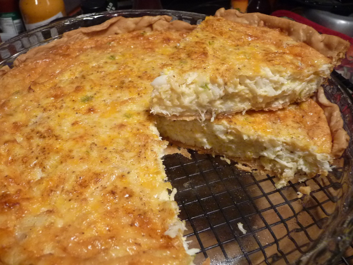 Crab Pie Recipe Hotsaucedaily