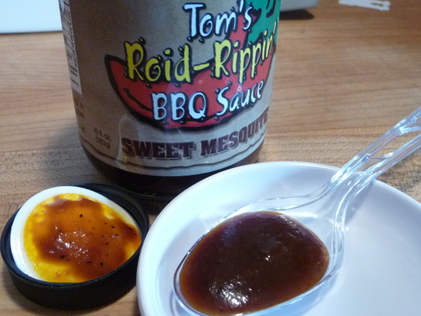 Tom's Roid Rippin' Sweet Mesquite BBQ Sauce