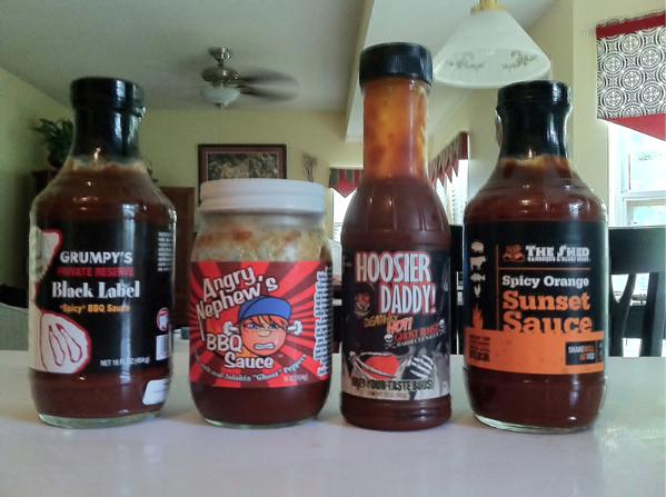 Spicy BBQ Sauce Wing Throwdown