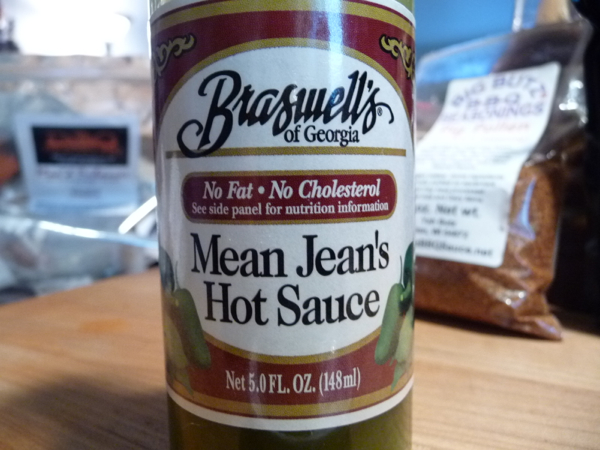 Week of Mild: Day 1: Braswell's of Georgia Mean Jean's Hot Sauce Review