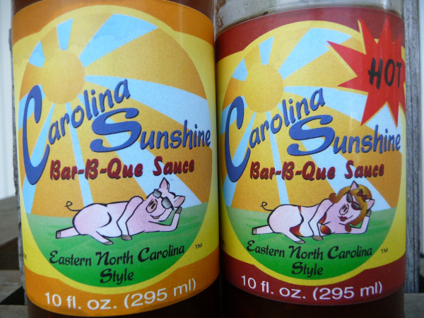 Carolina Sunshine Bar-B-Que Sauce Original and Hot Review
