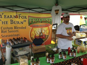 Kerry Stessel of Hot Line Pepper Products