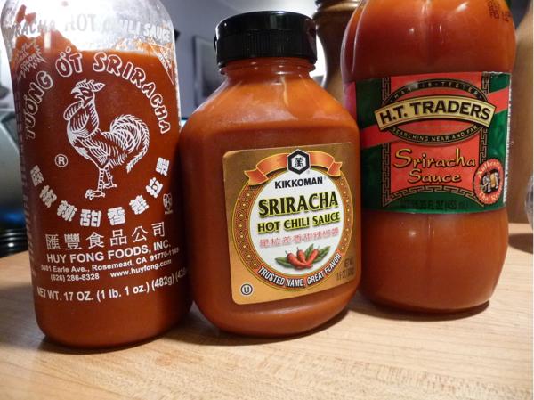 Sriracha Sauce Trio – Kikkoman – HT Traders – Rooster