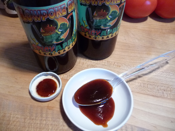 Slowpoke BBQ Spicy Apple BBQ Sauce Review