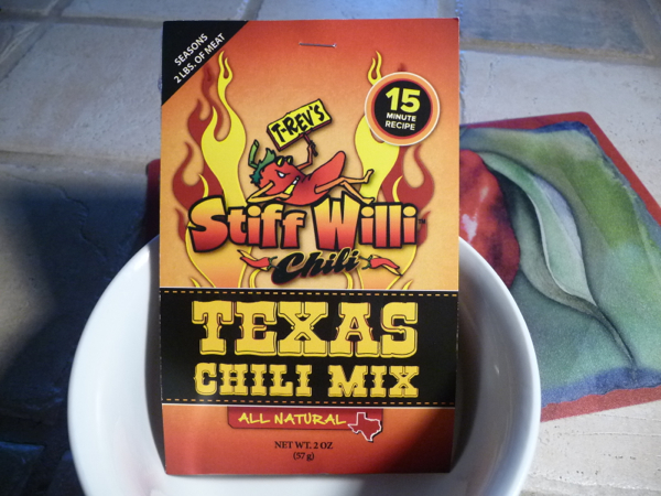 Stiff Willi Chili Texas Chili Mix review