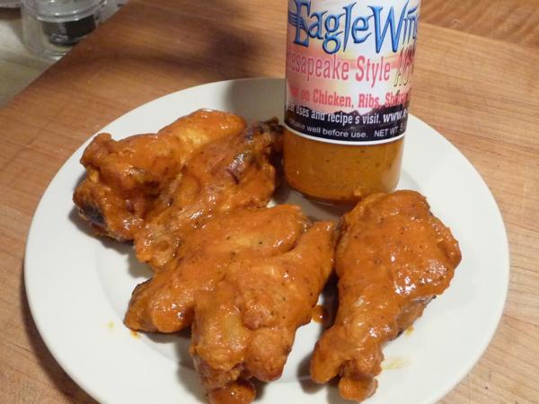 Eagle Wingz Chesapeake style hot sauce