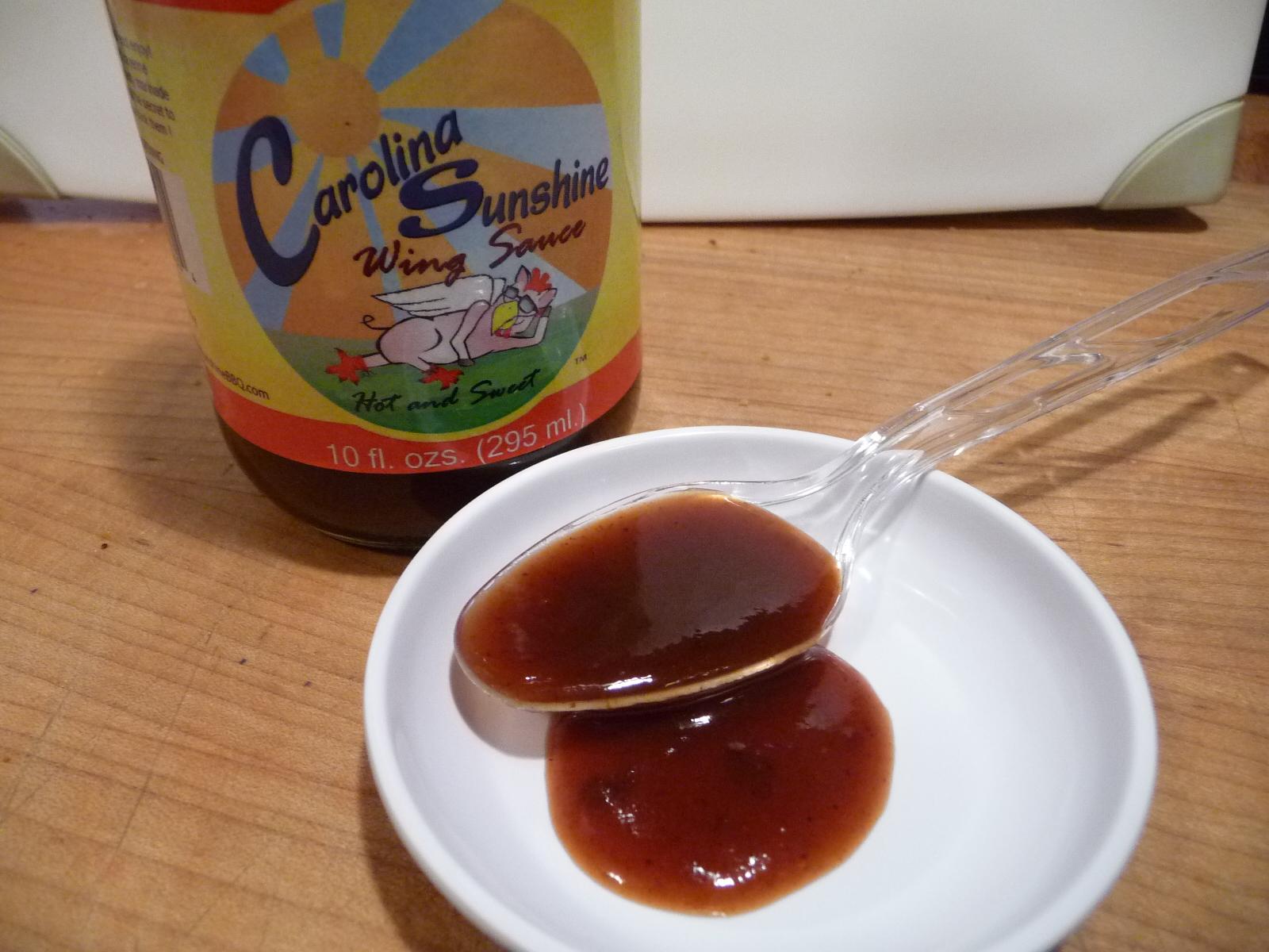 True to Carolina style - big vinegar taste
