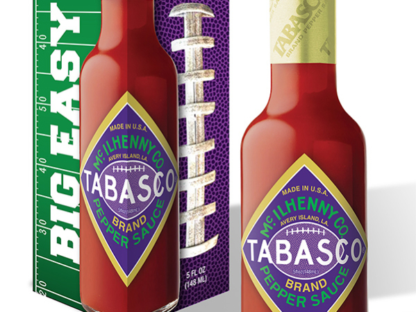 Giveaway: Limited Edition Bottle of Tabasco® Big Easy