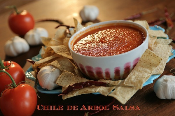 chile de arbol salsa recipe