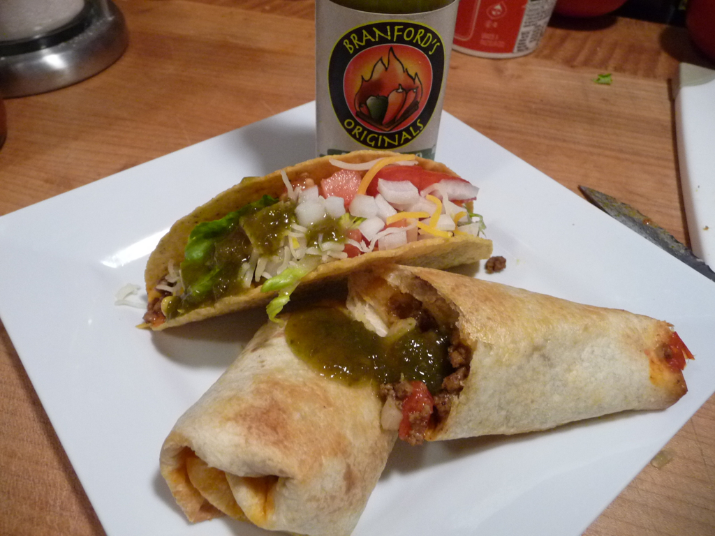 Branford's Serrano on Tacos and Burritos