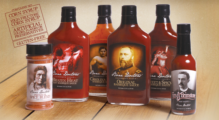 bone doctors bbq sauces lineup