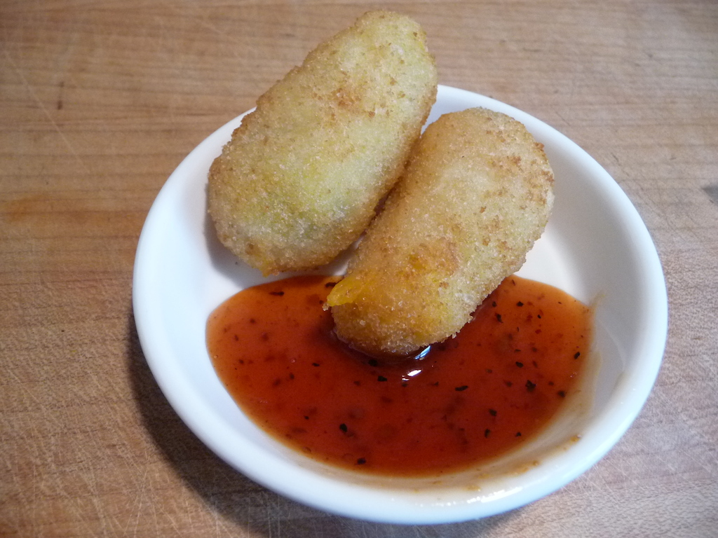 Chili Dan's as dipping sauce for poppers