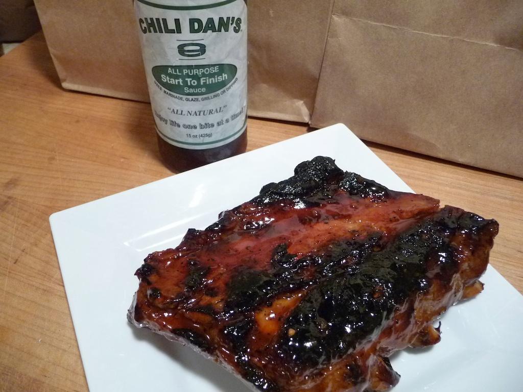 Chili Dan's on ribs