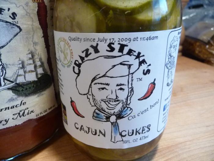 crazy steve's cajun cukes