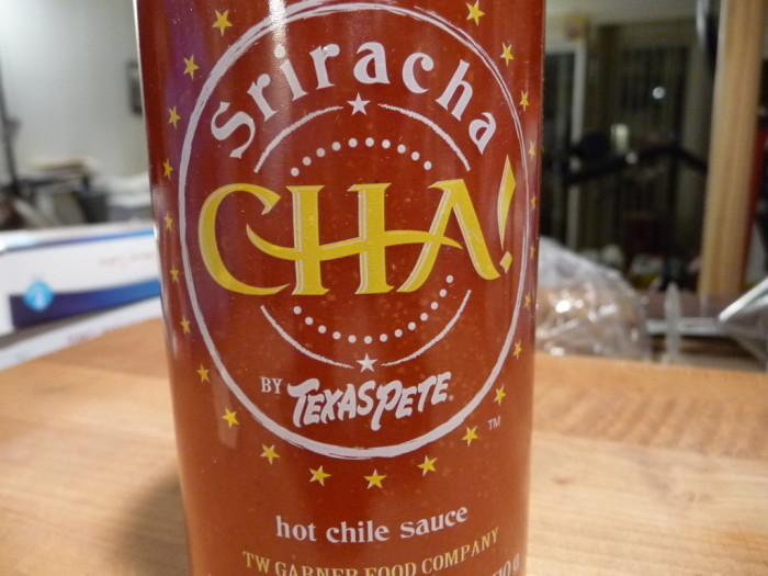 Texas Pete's new Sriracha sauce – CHA!